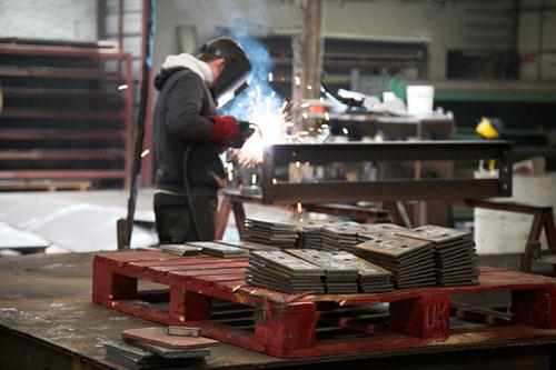 Welding Steel Plates