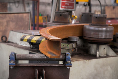 Curved Steel