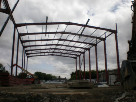 Structural Steel Erection_Masterlink Project