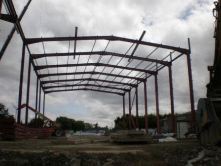 Structural Steel Erection_Masterlink Project