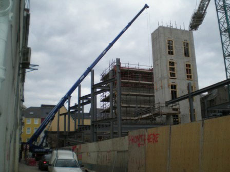 Structural Steel Erection – Hotel Beasley St