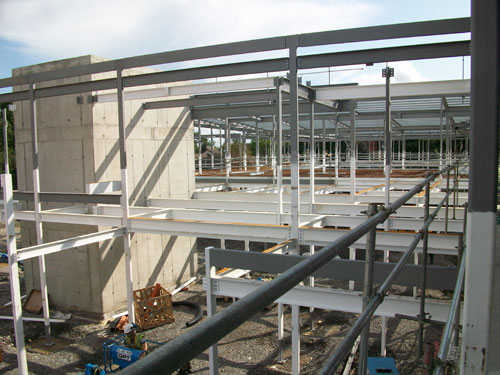 St Vincents CNU_Structural Steel