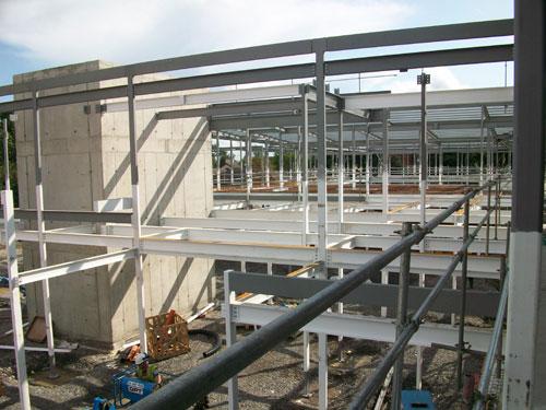 St Vincents CNU_Structural Steel